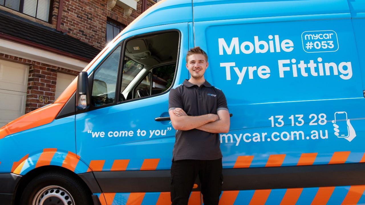 Mobile Tyre Shop